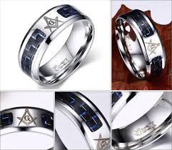 men rings wholesale images Men rings stainless steel masonic rings wholesale punk carbon jpg