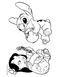 stitch coloring dessincoloriage