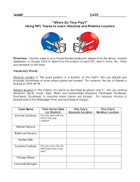 6th Grade Social Studies Printable Worksheets Absolute Location Worksheet Worksheets Reviewrevitol Free