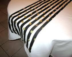 black white striped table runner black and white striped table runner black u0026 white stripe print