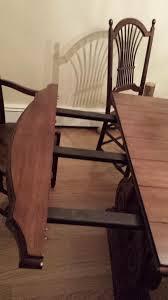 walter u0026 wabash dining room table u0026 6 nichols u0026 stone chairs