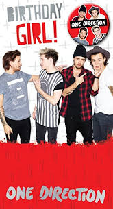 one direction cards one direction birthday girl birthday greeting card co uk