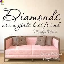 chambre marilyn les diamants sont un meilleur ami de filles marilyn