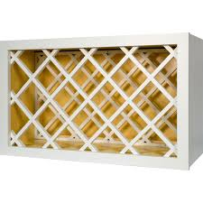 30 inch wine rack cabinet in shaker white 30