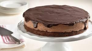 chocolate mousse torte recipe bettycrocker com