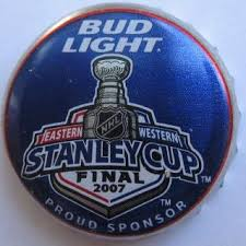 bud light beer hat bud light stanley cup final beer cap from united states crown caps