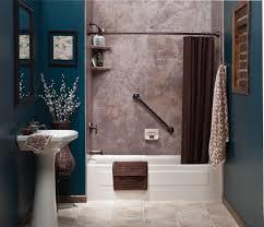 bathroom futuristic simple bathroom design with cream brown