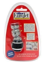 Where Is The Aerator On A Kitchen Faucet Amazon Com Ultra Eurojet Kitchen Sprayer Black Home Improvement