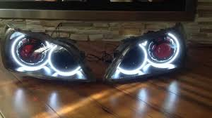 modified lexus is300 lexus is300 is200 custom projector headlights by extremedesignz
