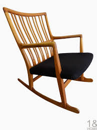 Rocking Chair Used Modern Mid Century Danish Vintage Furniture Shop Used