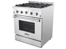 Cooktops Gas 30 Inch Thor Kitchen Stoves Professional Stainless Steel Ranges And Hoods