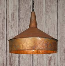 pendant lighting copper finish our industrial copper finish on metal pendant l will add that