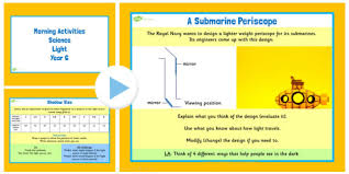 what is light in science year 6 early morning science activities light ks2 science