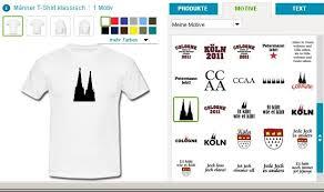 shirt selbst designen köln t shirts selbst gestalten