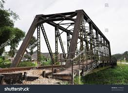 train iron bridge stock photo 27728623 shutterstock