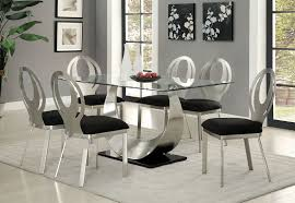 orla contemporary 7 piece dining table