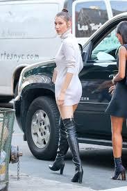 celebrities wearing designer thigh high boots photos footwear news