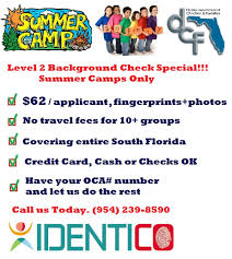 Ymca Of South Florida Florida Summer Camp Background Checks Identico Live Scan