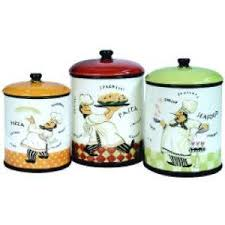 italian canisters kitchen fat italian chef home decor kitchen canister set french canisters