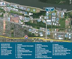 Portland International Airport Map by Logisticenter At 185 Portland Industrial Property For Lease