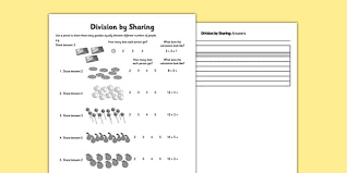 division primary resources ks1 calculation page 1
