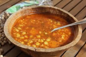 cuisiner les pois chiches soupe de pois chiche à la coriandre festin quotidien