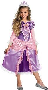 Mother Gothel Halloween Costume Girls Disney Deluxe Tangled Rapunzel Costume Costume Craze