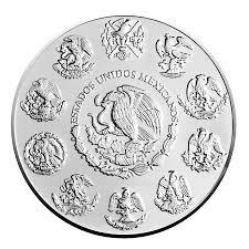 Mexican Flag Stencil Flag 2015 1 Oz Libertad Silver Coin Color 24k Gold