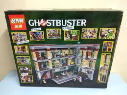 Lego Headquarters Monkeys Can Game Lepin 16001 Ghostbusters Firehouse