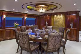 dining area image gallery u2013 luxury yacht browser by charterworld
