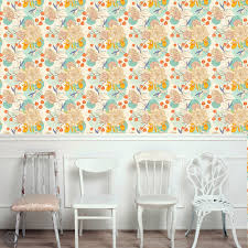 removable floral wallpaper bloom peel u0026 stick self adhesive