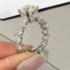 fashion wholesale rings images 2018 new design 925 sterling silver fashion luxury wedding ring jpg