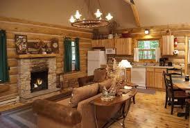 Log Cabin Living Room Designs Pictures Of The Egg Harbor Log Cabin U2013 Door County Escapes