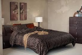 luxury black leopard print bedding sets cotton sheets