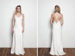 wedding dress no 12 stunning minimalist wedding dresses brit co