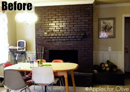 brick fireplaces painted part 33 how to paint a brick mantel