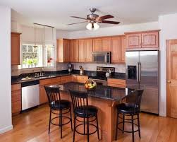 popular of kitchens with black countertops and black countertop