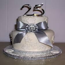 elegant 25 anniversary cakes pictures