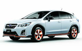 2017 subaru crosstrek green a sportier subaru crosstrek hybrid for japan the car guide