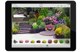 Backyard Planning Software by Garden Planning App The Gardens