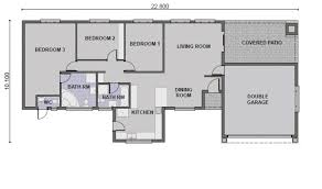 4 Br House Plans 15 3 Bedroom House Plans With Double Garage In South Africa 4