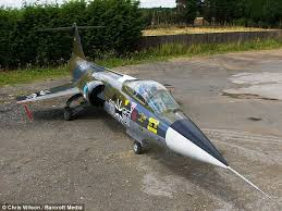 cold war f 104 starfighter jet is up for sale for 25k as a
