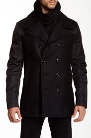 tiger of sweden majors notch collar wool blend jacket by tiger of