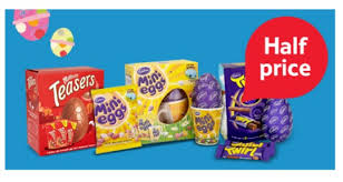 large easter eggs selected large easter eggs half price now 1 50 tesco