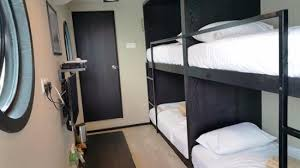 Two Bunk Beds Room With Two Bunk Beds In Cacin Container Picture Of The Kabin