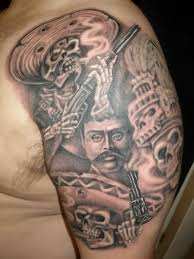 mexican tattoos and meanings pictures to pin on pinterest tattooskid
