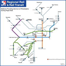 septa map more septa pope passes go on sale updated service map unveiled