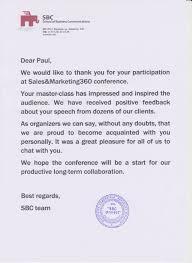sle thank you letter after sle invitation letter for conference keynote speaker 28 images