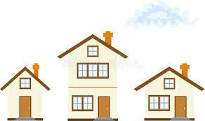 three houses three houses stock illustration illustration of architecture 8827451
