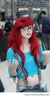 hipster girl hipster girl ariel thefunnyplace